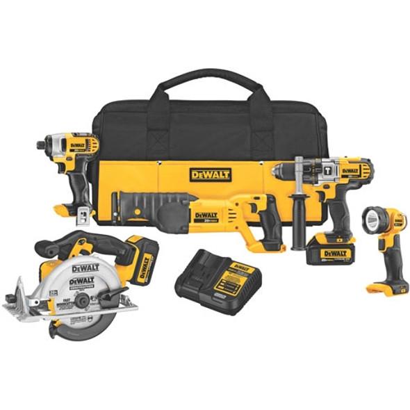 Dewalt 20V MAX Premium 5-Tool Combo Kit