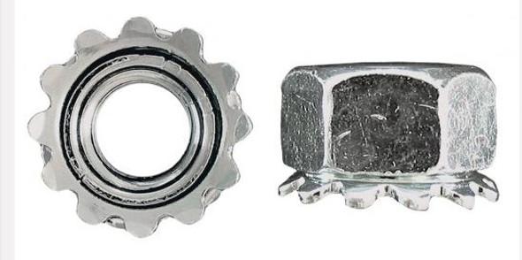H.Paulin 119 Keps Lock Nut - Zinc Plated