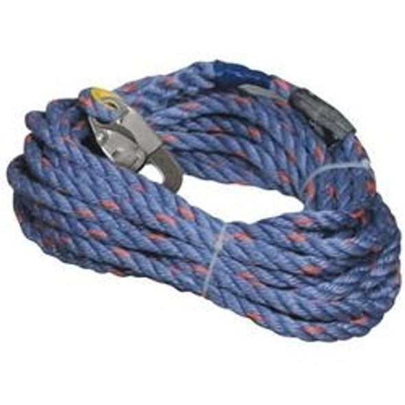 Miller 300L-Z7/25FTBL 25 Foot Rope Lifeline