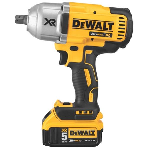 """Dewalt 20V MAX XR Brushless 1/2"""" Impact Wrench Kit"""