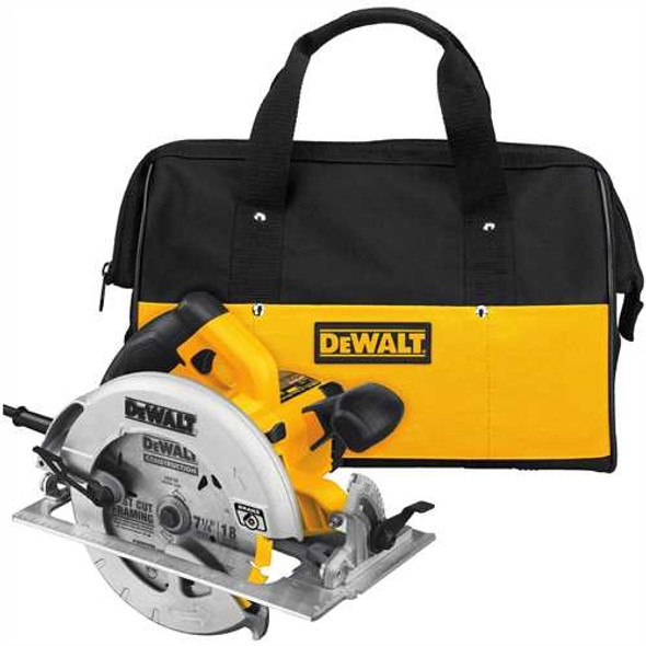 "Dewalt 7 1/4"" Lightweight Circular Saw w/ Electric Brake"