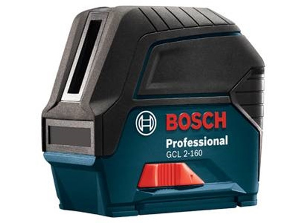Bosch GCL 2-160 Self- Leveling Cross-Line Laser with Plumb Points