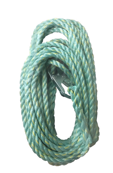 Dynamic Safety FP58EPS25A Vertical Rope Lifeline - 25'