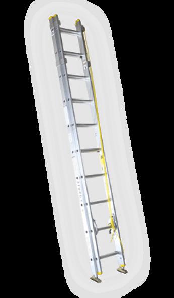 Sturdy A132-20 20' A132 Series Aluminum Extension Ladder