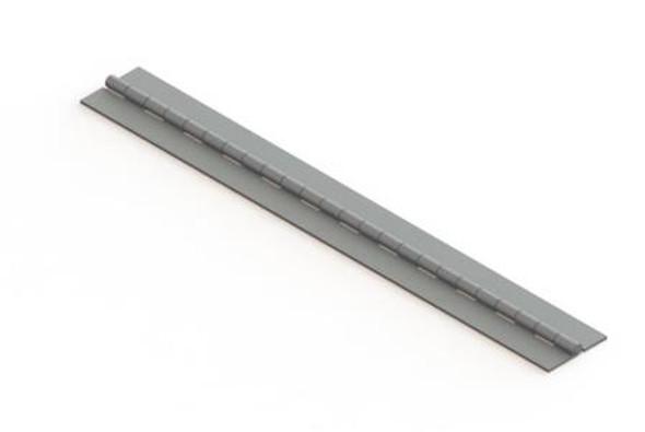 "Larsen 1516E00AL 1 1/2"" Aluminum Piano Hinge"