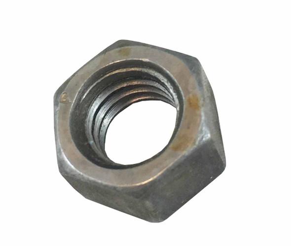 1/4 inch Hex Nut - Bare - Coarse Grade 5 Left Hand