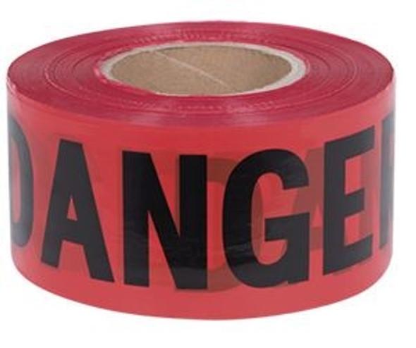 """JET """"Danger"""" Tape 3 x 1000'"""