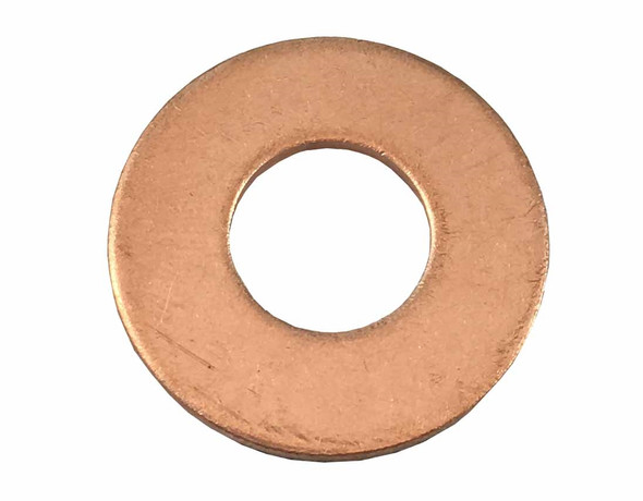 "3/8"" Flat Silicone Brass Washer"