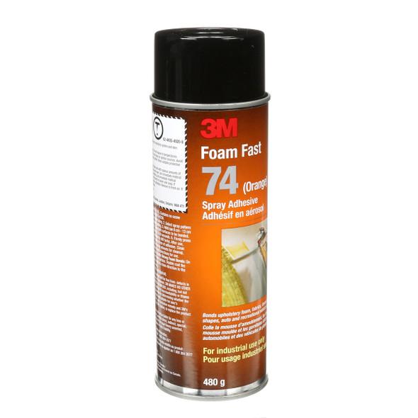 3M Foam Fast 74 Spray Adhesive - Orange