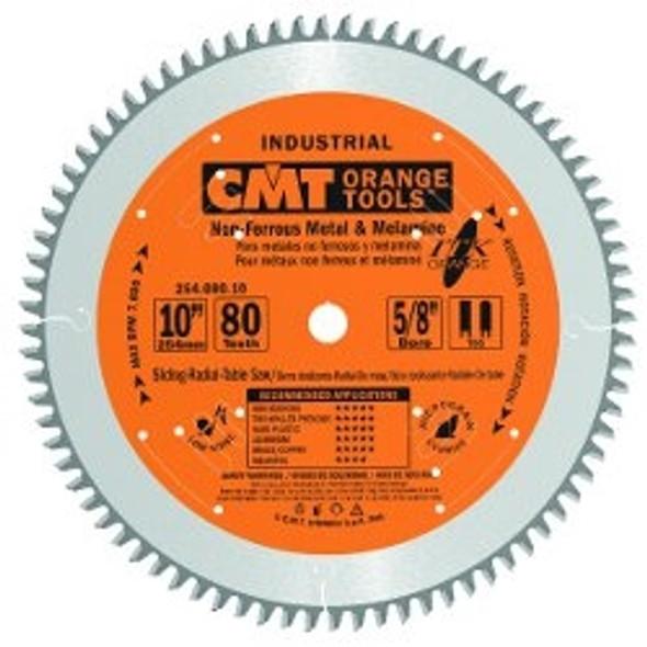 CMT 254.080.10 10 inch 80 tooth ITK non-ferrous metal, & melamine circular saw blade