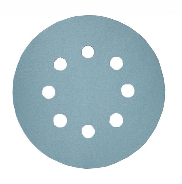 "sia Abrasives Series 1948 siaflex Aluminum Oxide 5"" 8-Hole Disc - 100 Grit"