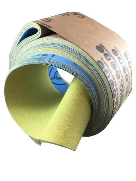 "Klingspor 20434 4"" X 100"" 120 Grit LS312JF Abrasive Belts with Cloth Backing"