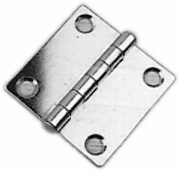 "2"" x 2"" Stamped Stainless Steel Hinge"
