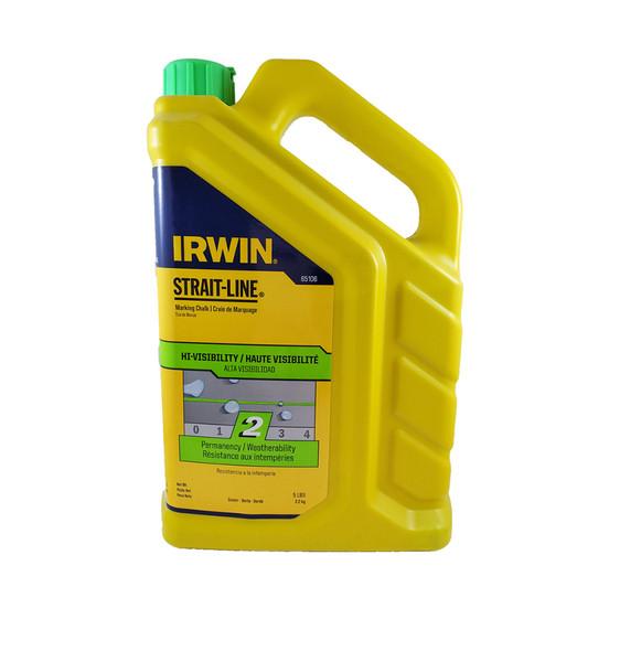Irwin 5lb Green Hi-Viz Marking Chalk