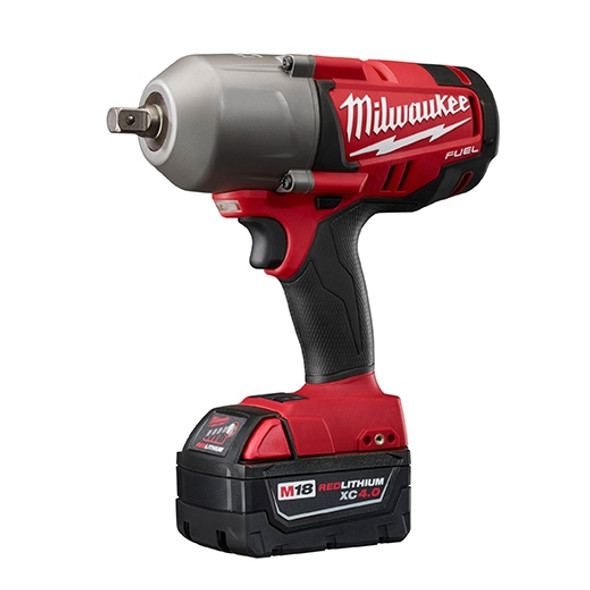 "Milwaukee 2766-22 M18 FUEL 1/2"" High Torque Impact Wrench with Pin Detent Kit"