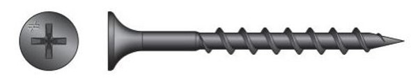 """Quik-Drive DWC158PS #6 x 1 5/8"""" Collated Drywall Screw"""