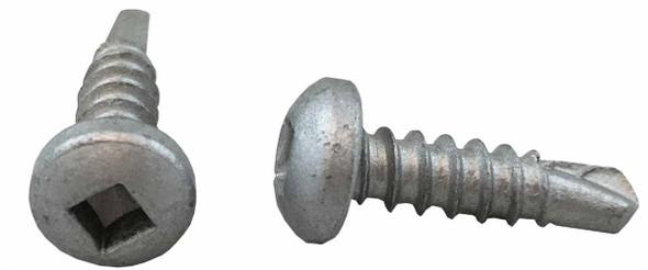 """#10 x 1"""" Pan Head TEK Self Drilling Screws Stainless Steel"""