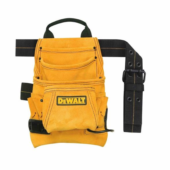 DeWalt DG5333 10-Pocket Carpenter's Suede Nail & Tool Bag
