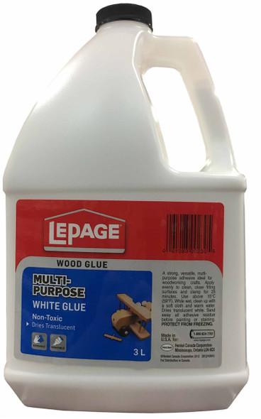 Lepage 10-00230-0 White Glue 3L