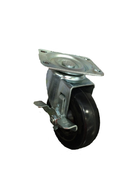 "4""  Swivel Caster with Brake"
