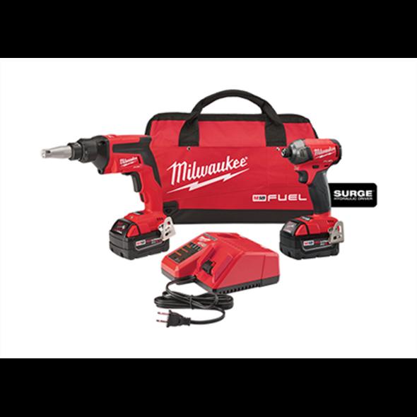 Milwaukee 2896-22 M18 Fuel 2-Tool Combo Kit