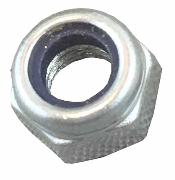 Metric Lock Nut -  M6 - Coarse - Steel