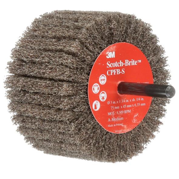 """3M SB05974 3"""" x 1-3/4"""" Flap Brush - Medium Grit"""