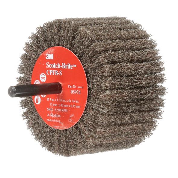"3"" x 1-3/4"" Flap Brush - Medium Grit"