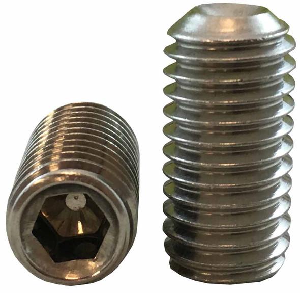 "Socket Set Screw #10-32 x 1"" - Stainless Steel"