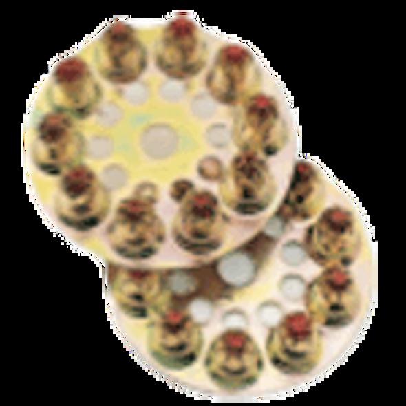 Ramset D621 25 Cal. Yellow Disc Loads - 100 Pack
