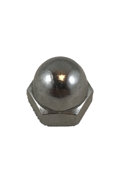 "3/8"" Stainless Steel Acorn Nut"