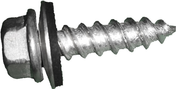 SFS Intec Self Tapping Screws #14 HHA Washered Cadium Plated