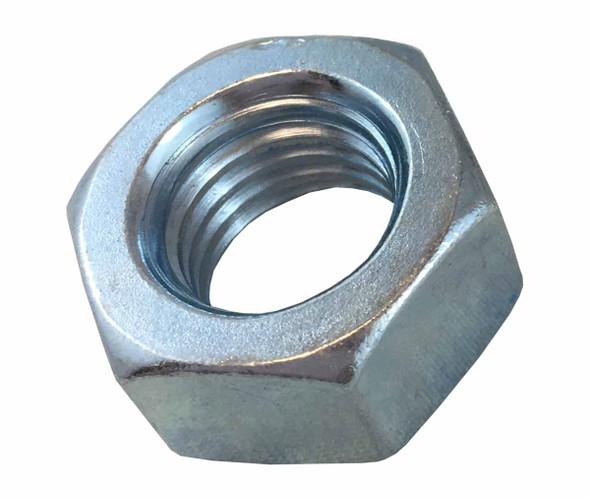 3/4 inch Hex Nut - Zinc - Fine Grade 2