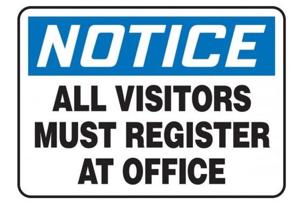 Accuform MADM893VP OSHA Notice Safety Sign