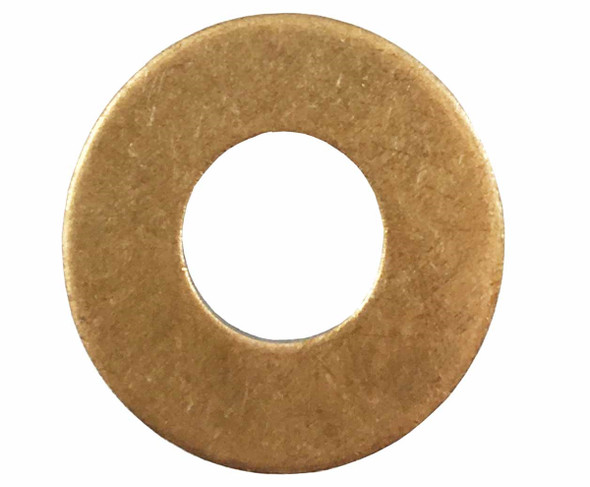 "1/2"" Flat Silicone Bronze Washer"