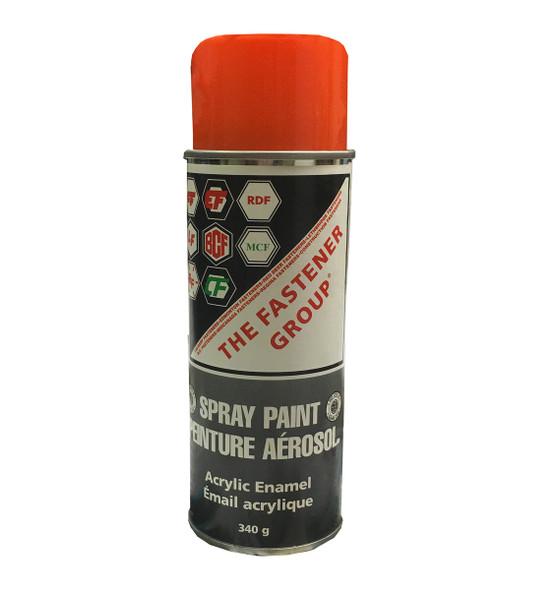Acrylic Enamel Florida Orange Spray Paint