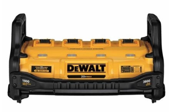 Dewalt 1800W Portable Power Station and Parallel Battery Charger