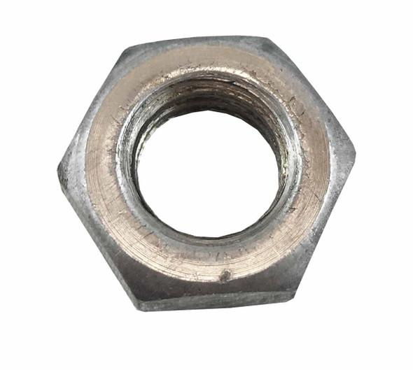 1/2 inch Jam Nut - Coarse - Grade 2 - Bare