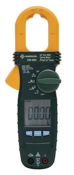 Greenlee CM-660 General Purpose Clamp Meter, AC 600-Amp