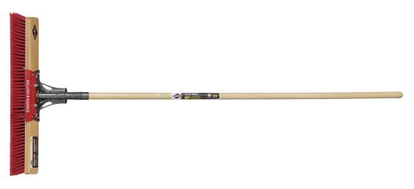 "Garant GPPBSMS24 Push Broom, Scraper 24"" - Multi, Wood Handle"