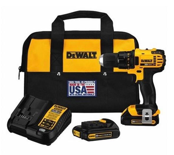 "DeWalt DCF880M2 20V Max 1/2"" Impact Wrench Kit"