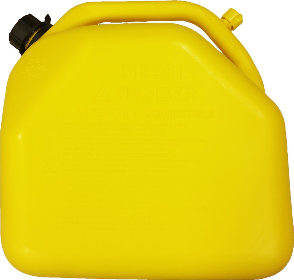 20 Litre 5 gallon Yellow Plastic Gas Can