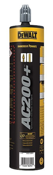 Dewalt AC200+ Acrylic Injection Adhesive 10 oz