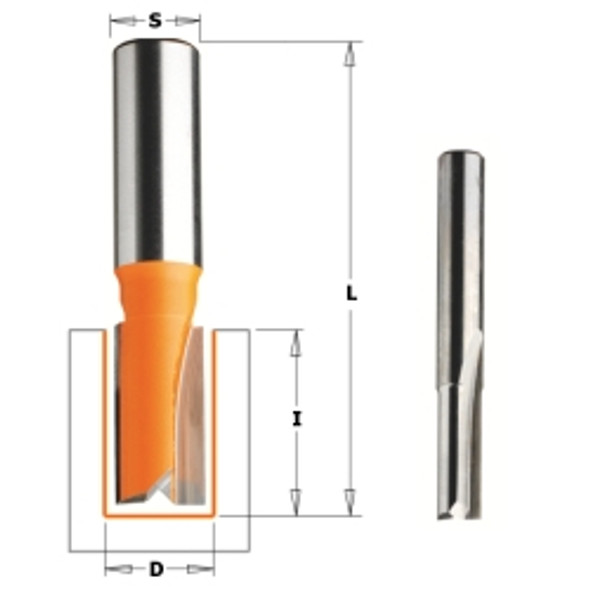 CMT 811.096.11 3/8 inch Straight Router Bit