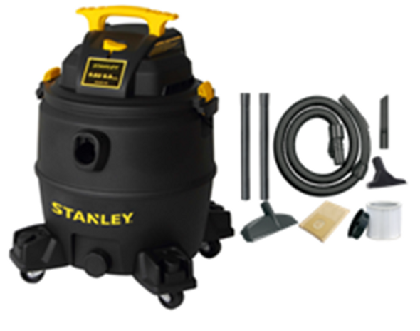 Stanley SL18117P, 8 Gallon 5 Horsepower Poly Wet/Dry Vacuum