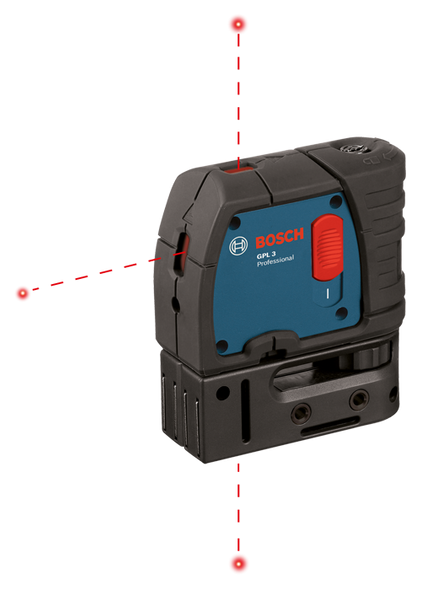 Bosch GPL 3 3-Point Self-Leveling Alignment Laser Level