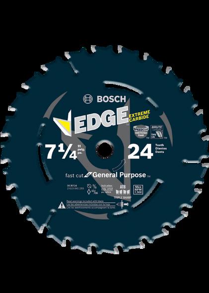 "Bosch DCB724 7-1/4"" 24 Tooth Edge Circular Saw Blade for Framing"