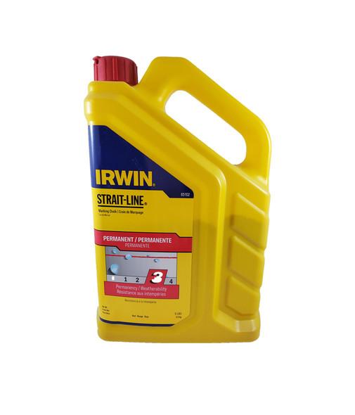 Irwin 5lb Red Permanent Marking Chalk