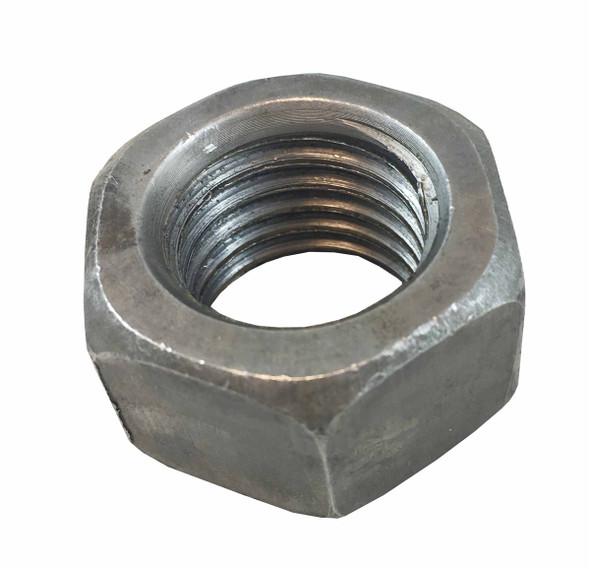 1 inch Hex Nut - Bare - Coarse Grade 5