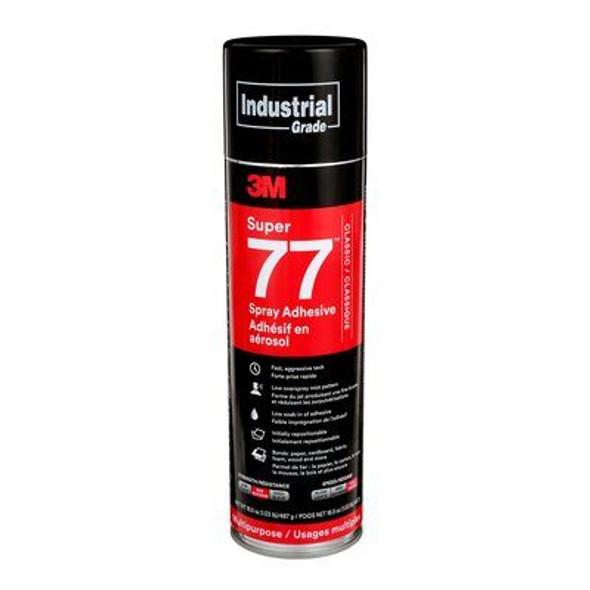 3M Super 77, Spray Adhesive - 24oz